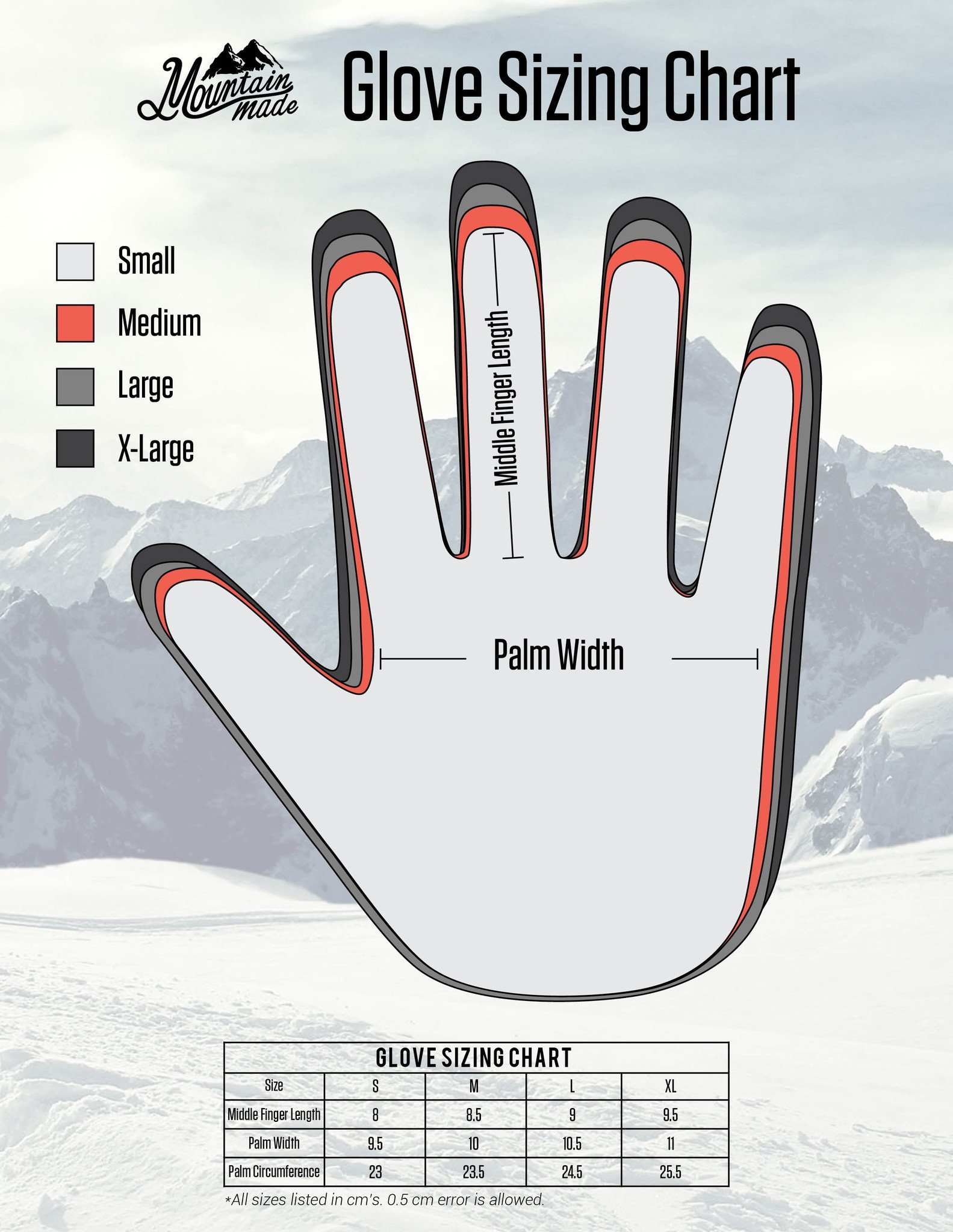 Mountain Made Cold Weather Gloves for Men and Women 2.0 with NEW UPGRADED ZIPPPERS,black,large by Mountain Made (Image #7)