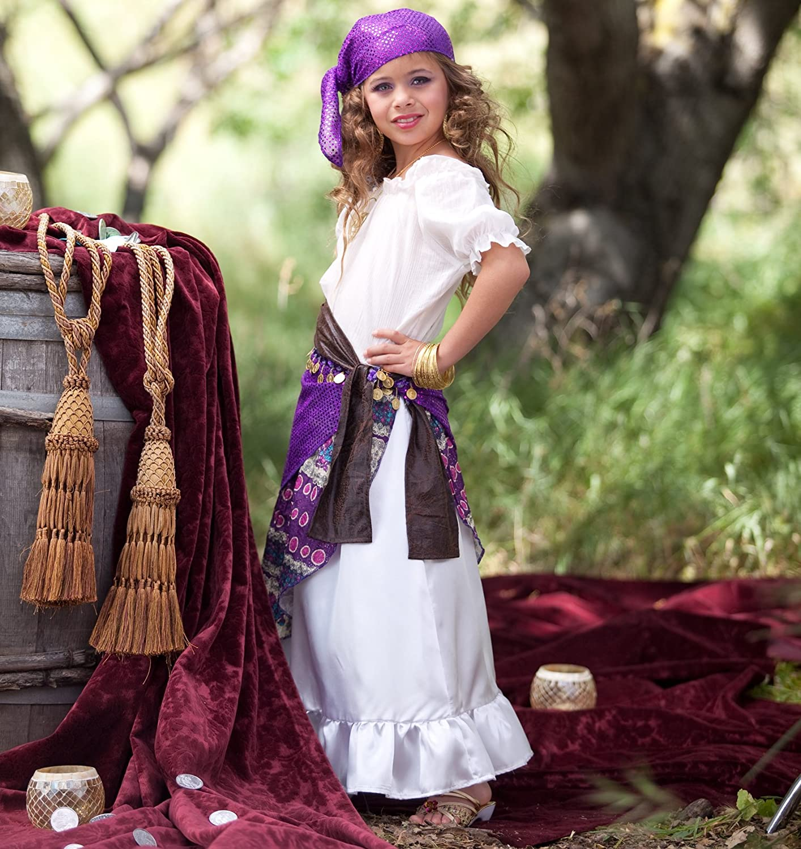 sc 1 st  Amazon.com & Amazon.com: Gypsy Child Costume Small (4-6): Toys u0026 Games