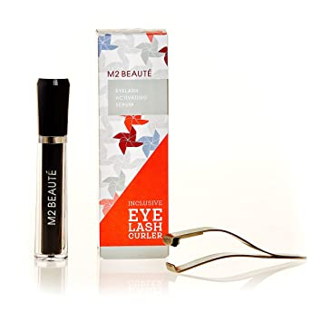 6f64363b88a Amazon.com: M2 BEAUTE Eyelash Enhancing Serum 5ml Inclusive Eyelash Curler  LIMITED EDITION | Longer and Healthier Eyelashes in Just 60 Days: Beauty