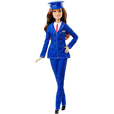 Barbie Careers Pilot Doll: Toys & Games