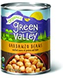 Green Valley Organics Garbanzo Beans, 15 Ounce (Pack of 12)