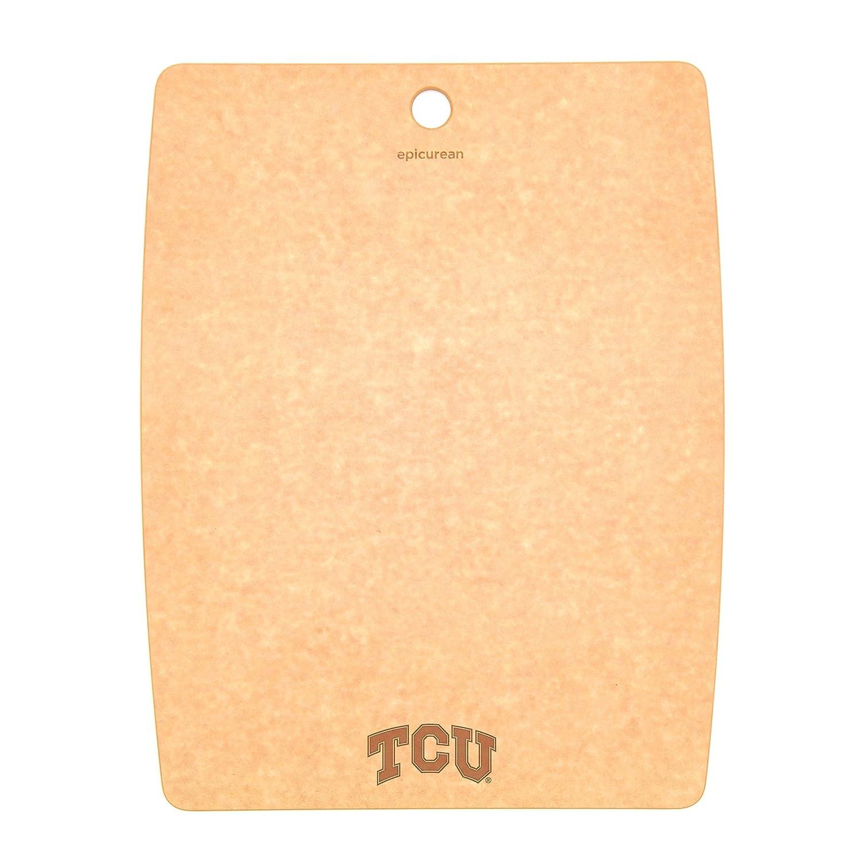 Epicurean C001-151101-TCU Texas Christian TCU Horned Frogs Cutting/Serving Board, 14.5