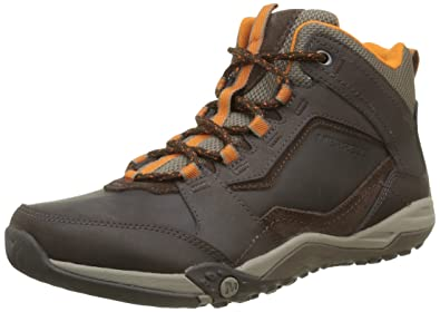 2a6dd90eda7 Merrell Men's Helixer Scape Mid High Rise Hiking Shoes Brown (Espresso) 8.5  UK 43