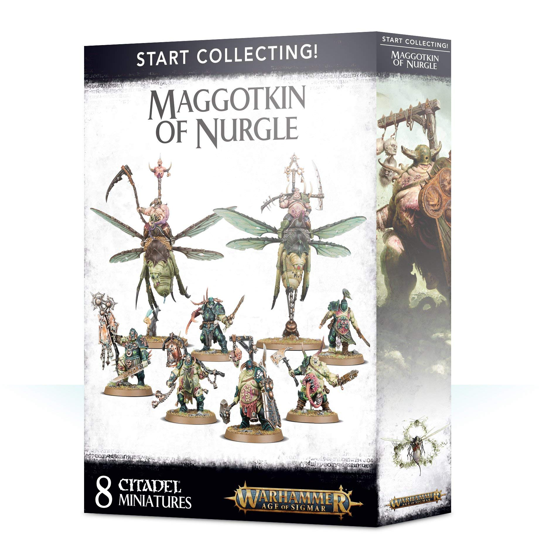Warhammer: Age of Sigmar: Start Collecting! Maggotkin of Nurgle