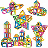 Newisland 36 Pieces Magnetic Building Blocks Set