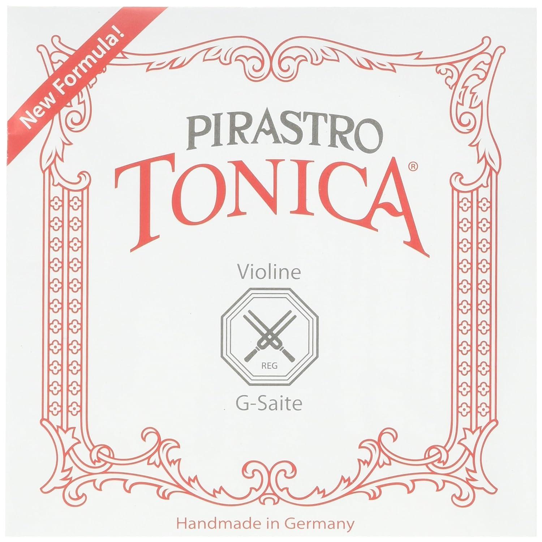Pirastro 4120BALL Tonica Synthetic Core Violin String Set, E-Ball Envelope, 4/4 Size TON412021