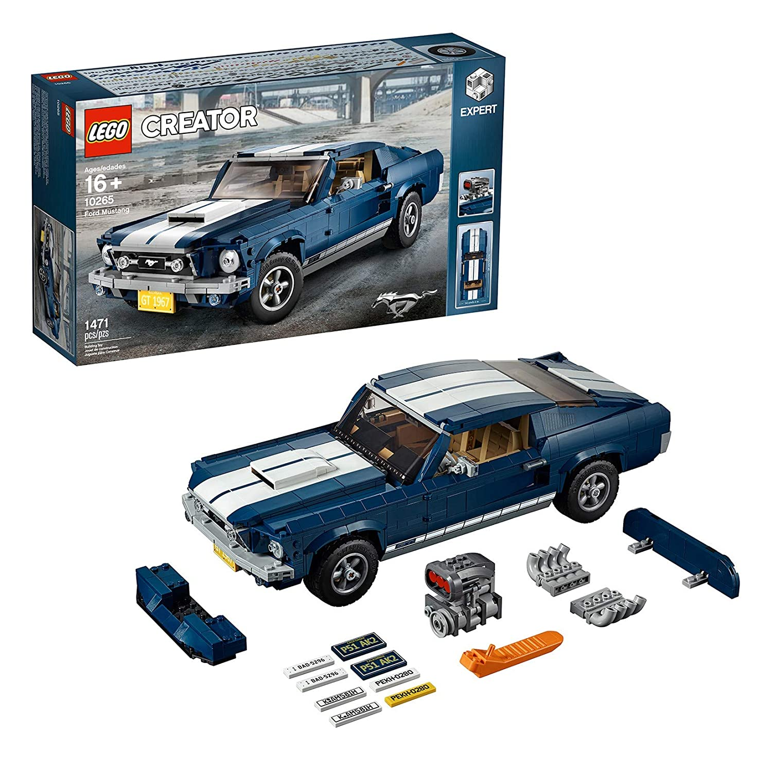 Lego 10265 creator expert ford mustang exclusive collectors car model