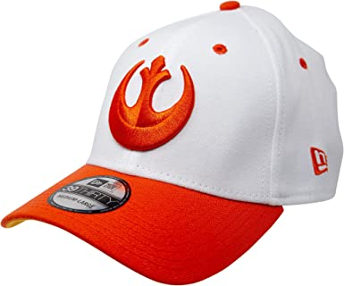 Star Wars Outline Logo New Era 39Thirty Fitted Hat Small//Medium