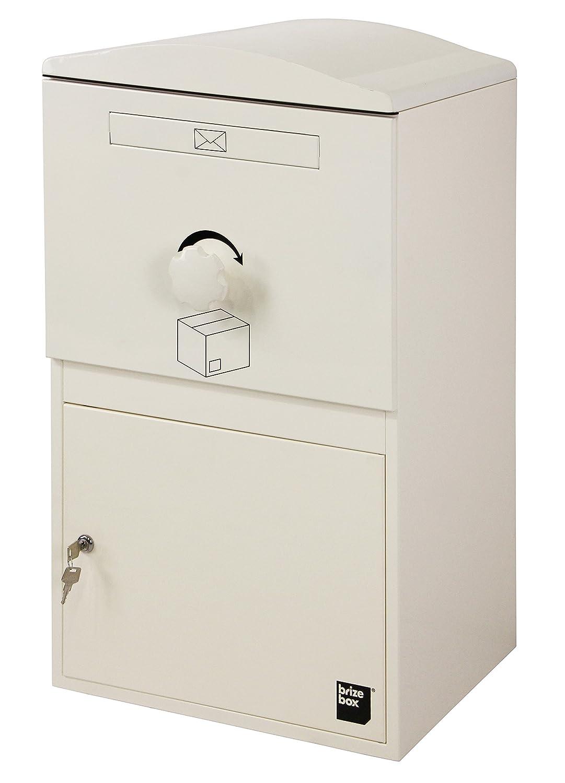 【日本初上陸】Brizebox(ブライズボックス)デザイン性と機能性を兼ね備えた シンプルでスマートな宅配ボックス Large Size(ラージ)【全8色】 (アイボリー) B072FVW9GV アイボリー アイボリー