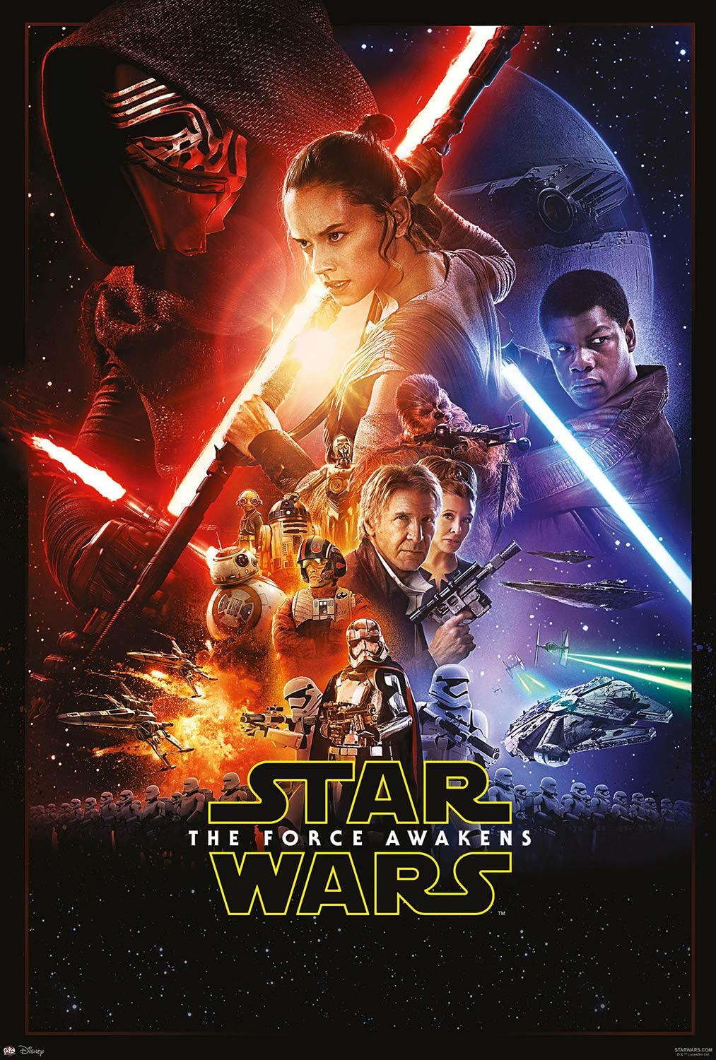 Amazon.com: Star Wars: Episode VII - The Force Awakens - Movie ...