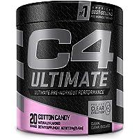 C4 Ultimate Pre Workout Powder Cotton Candy - Sugar Free Preworkout Energy Supplement for Men & Women - 300mg Caffeine…