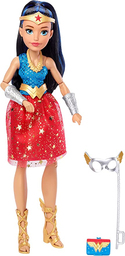 """DC Comics Super Hero Girls Intergalactic Gala 12/"""" Starfire Doll Outfit Shoes NEW"""