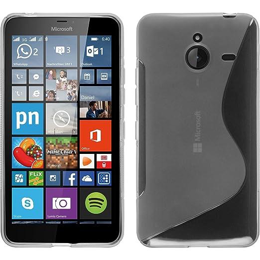 9 opinioni per PhoneNatic Custodia Microsoft Lumia 640 XL Cover trasparente S-Style Lumia 640