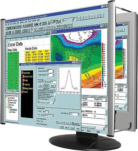 Kantek - Filtro de lupa para monitor LCD de 24 pulgadas, relación de aspecto 16:9/16:10: Amazon.es: Electrónica