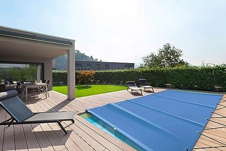 Cubierta de piscina rectangular (calidad profesional) de lona de ...