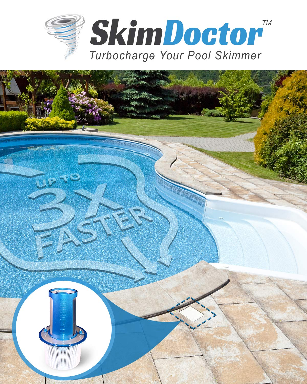 Skimmer for the pool: types, functions, installation 50