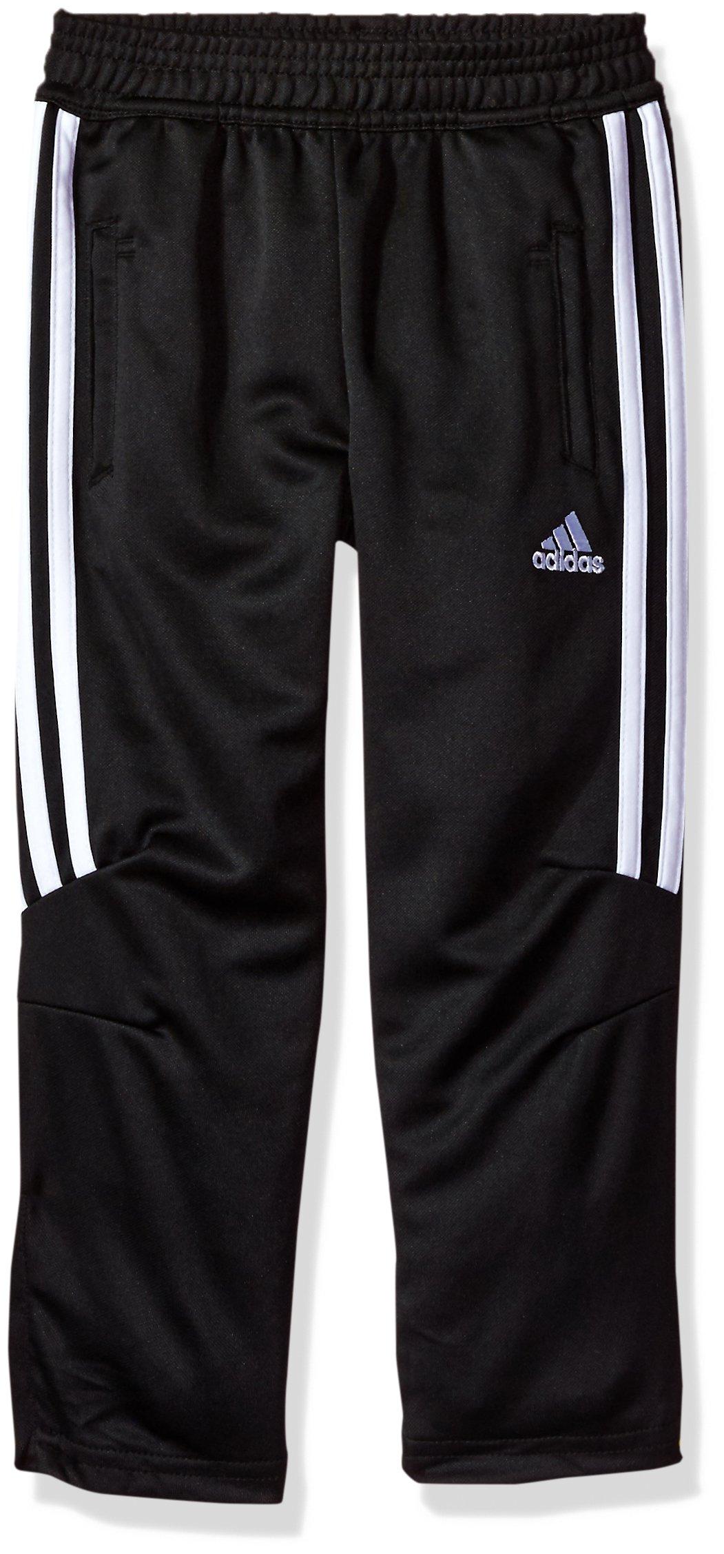 adidas Boys' Little Climacool Tiro Pant, Tiro17 Black Half, 7 by adidas