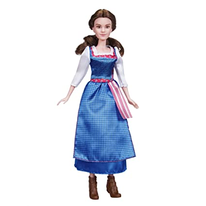 e9a3e794833 Image Unavailable. Image not available for. Color  Disney Beauty and the  Beast Village Dress Belle