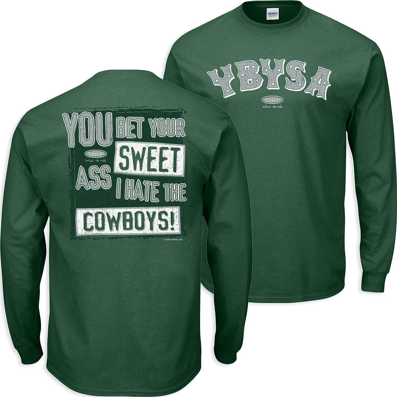 Forest Green T-Shirt YBYSA Sm-5X Anti-Cowboys Smack Apparel Philadelphia Football Fans