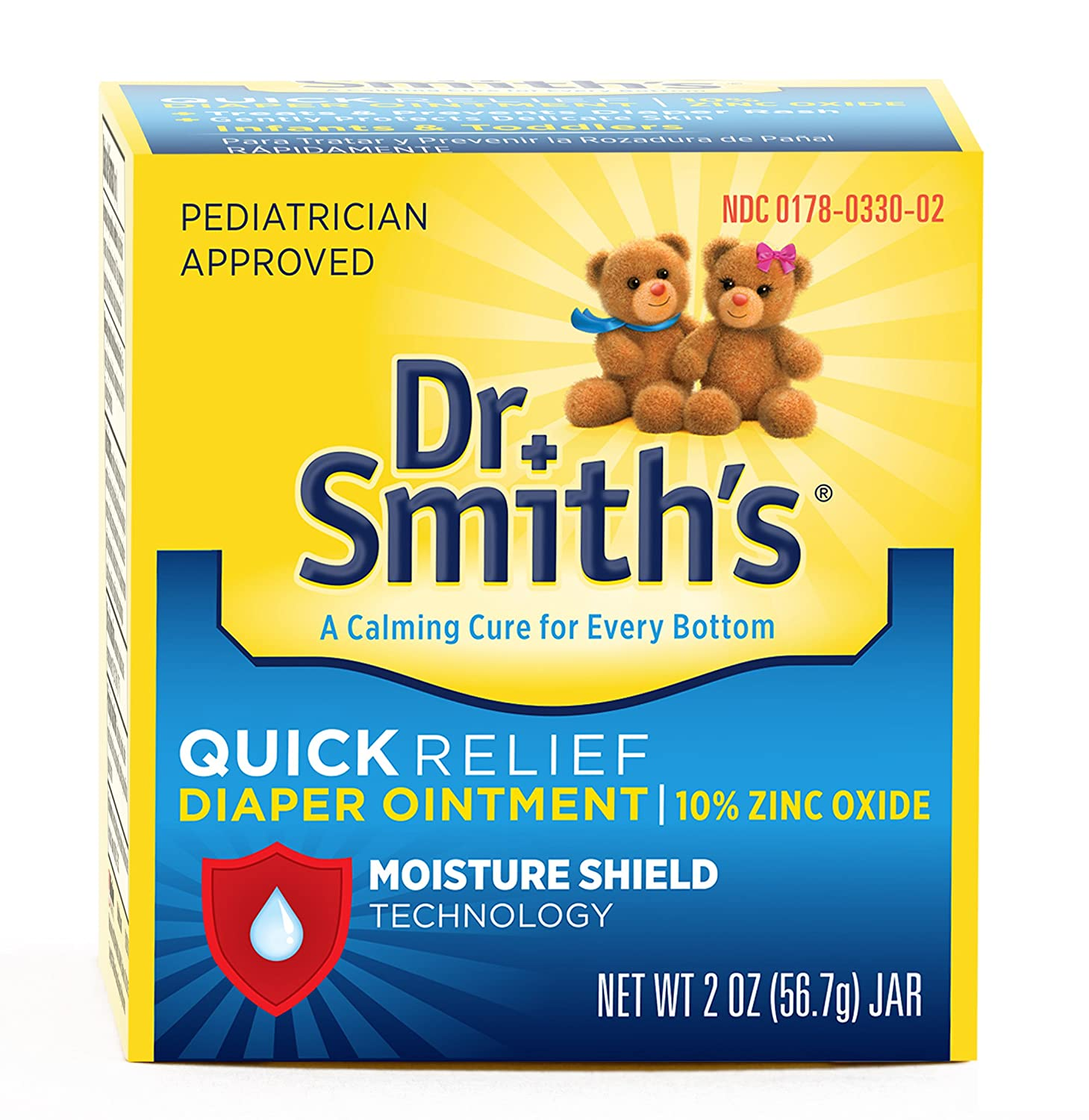 Dr. Smith's Quick Relief Diaper Rash Ointment, 2 Ounce Mission Pharmacal Company B003KLS7JW
