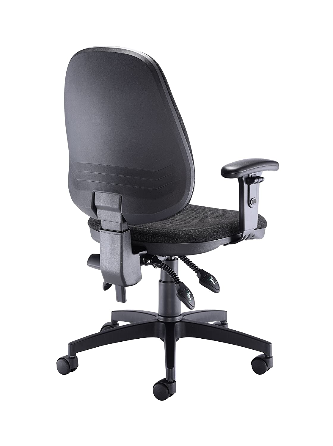 403449e03c18 Office Hippo Deluxe High-Back Swivel Desk Chair with Fixed Arms ...