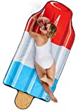 BigMouth Inc Gigantic Rocket Pop Beach Blanket– Fun Beach Blanket Perfect for the Beach, Pool, Lake and More, Machine Washable