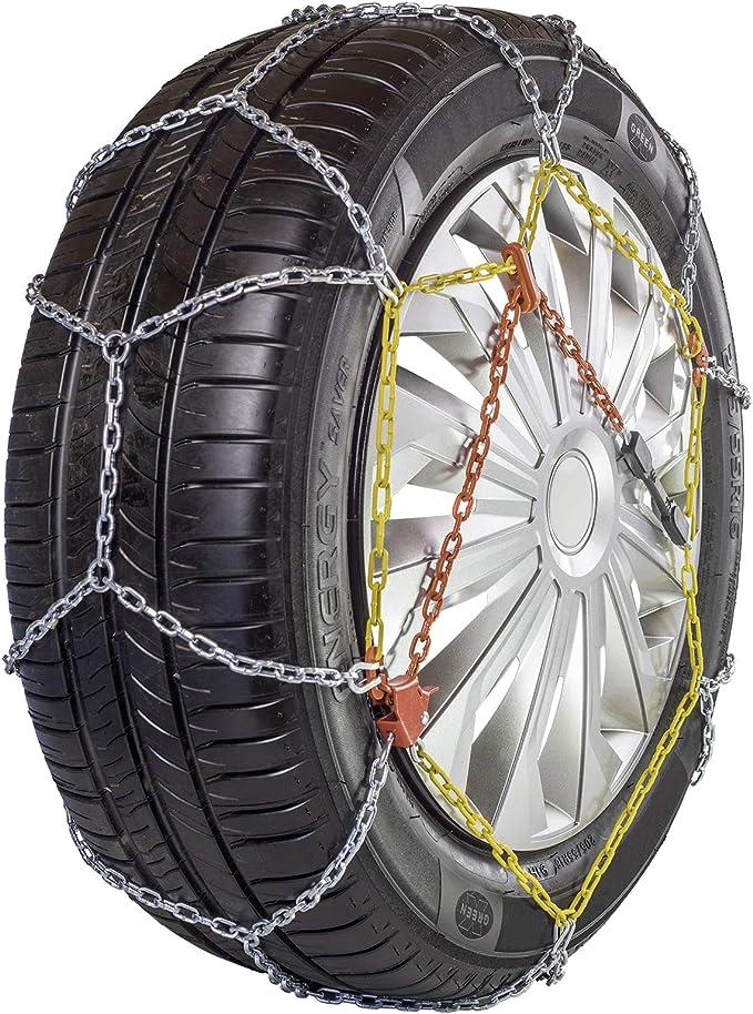 Carrefour Catene da Neve metalliche a rombo N°110 Enlace Diamond - Cadenas para neumáticos (Enlace, Diamond, 16,17,18,19