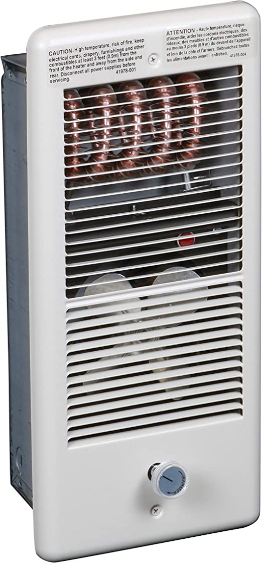 Amazon Com Tpi Corp Hf4315trpw Electric Wall Heater Home Kitchen