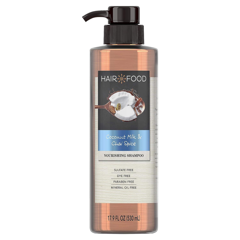 Sulfate Free Shampoo, Dye Free Nourishing Treatment, Coconut and Chai Spice, Hair Food, 17.9 FL OZ