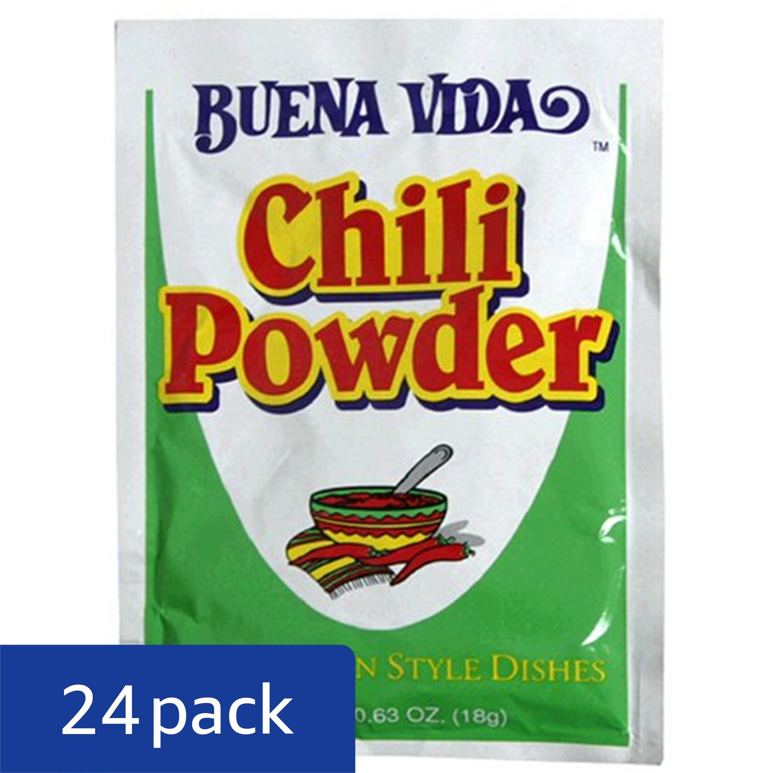 Buena Vida Chili Powder, 0.63-Ounce Packets (Pack of 24) by BUENA VIDA (Image #1)