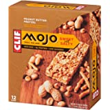 CLIF MOJO - Sweet and Salty Trail Mix Bar - Peanut Butter Pretzel - (1.6 Ounce Snack Bar, 12 Count)