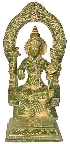 Goddess Rajarajeshwari Tripura Sundari – Brass Statue