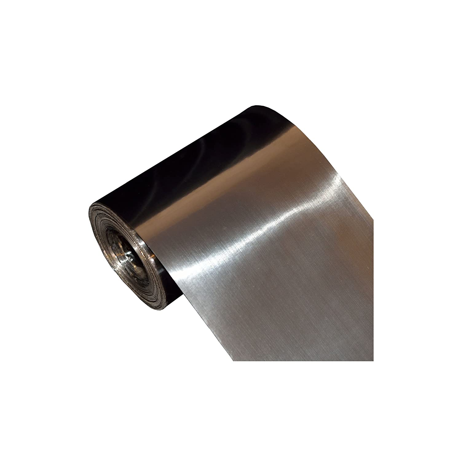 Titanium foil Size: 0.06 x 150 x 1000 mm. roll Sheet Grade 1 Woodstab
