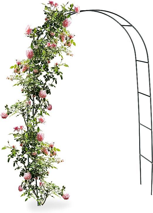 Relaxdays 10010020 - Arco de Metal para jardín Rosales: Amazon.es: Jardín