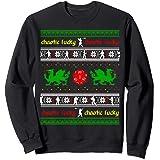 RPG Ugly Christmas Chaotic Lucky Sweatshirt