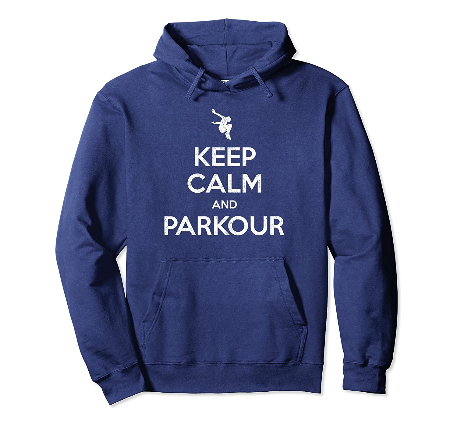 keep calm and parkour freerunning hoodie-Colonhue