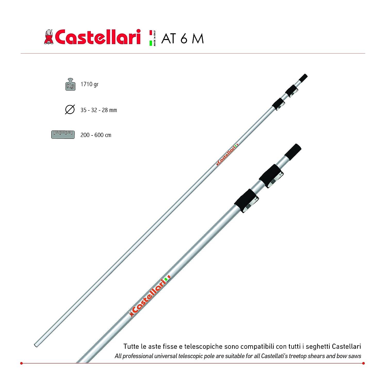 ASTA 6 MT PER TUCANO CASTELLARI AT 6M