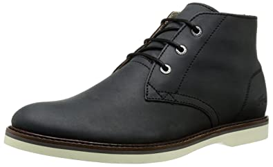 Lacoste Men's Sherbrooke Hi 116 1 Chukka Boot, Black, ...