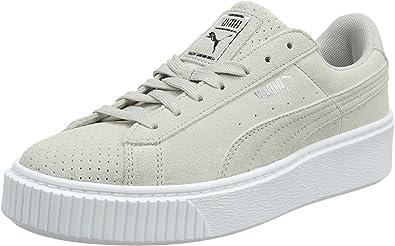 chaussure puma platforme gris