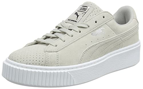 taille 40 b350d 08b18 Puma Suede Platform Perf, Sneakers Basses Femme: Amazon.fr ...