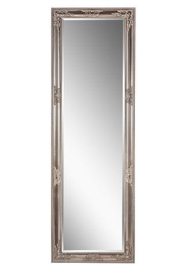 Spiegel Wandspiegel Antik Silber Barock Fay 170 X 55 Cm Amazon De