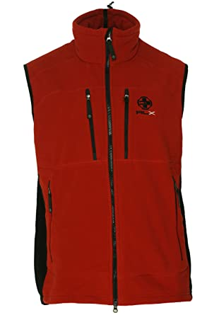 Ralph Lauren Rlx Snow Polo Fleece Vest Men's wXNOPkn80