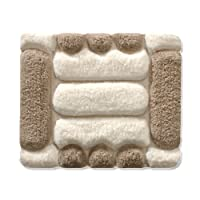 Tapis de bain casa pura Jill ultra doux | tailles au choix | hauteur du poil env. 4,5cm | lavable - haute qualité