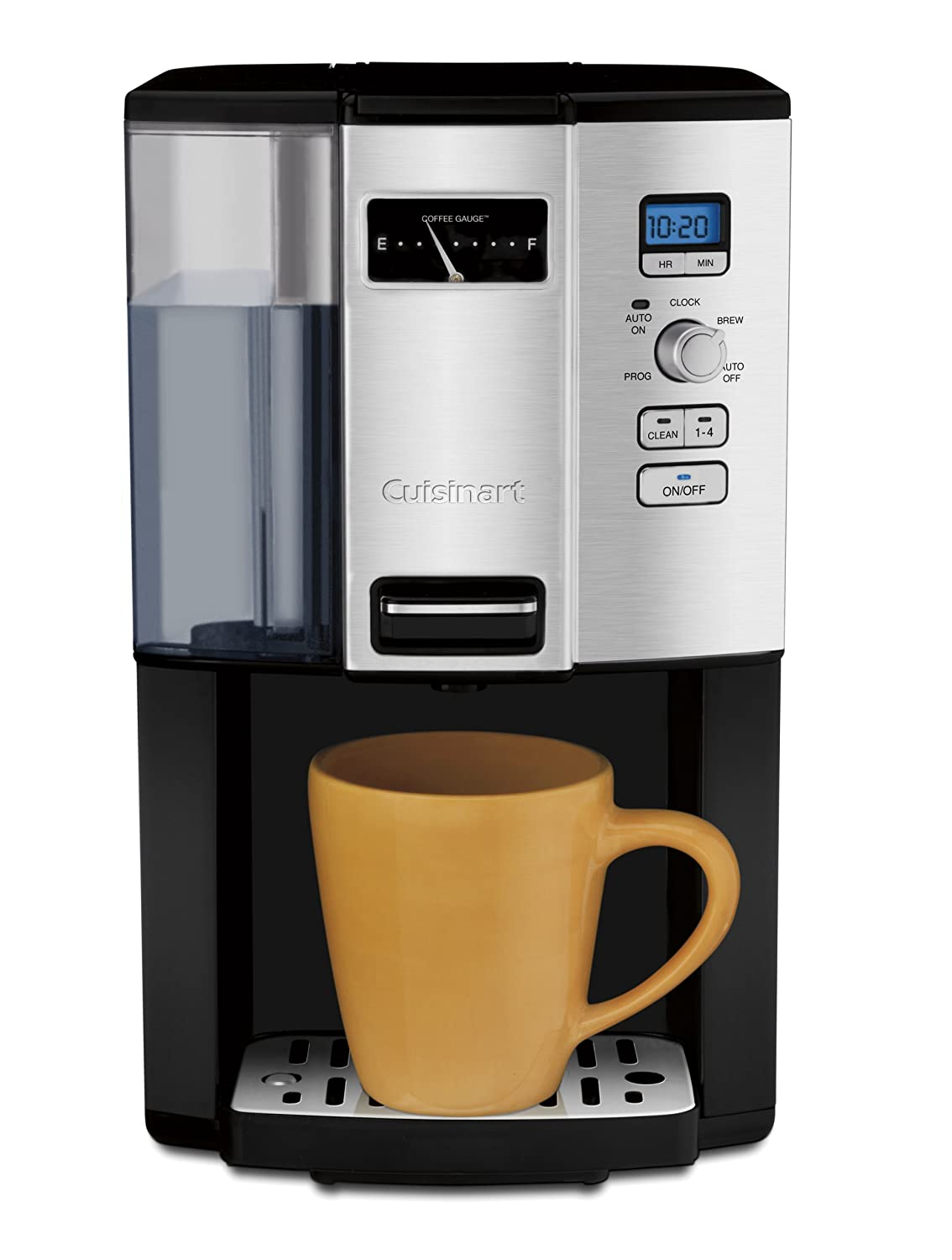 Cuisinart DCC-3000C 12Cup Coffee On Demand Programmable Coffeemaker Silver//Black