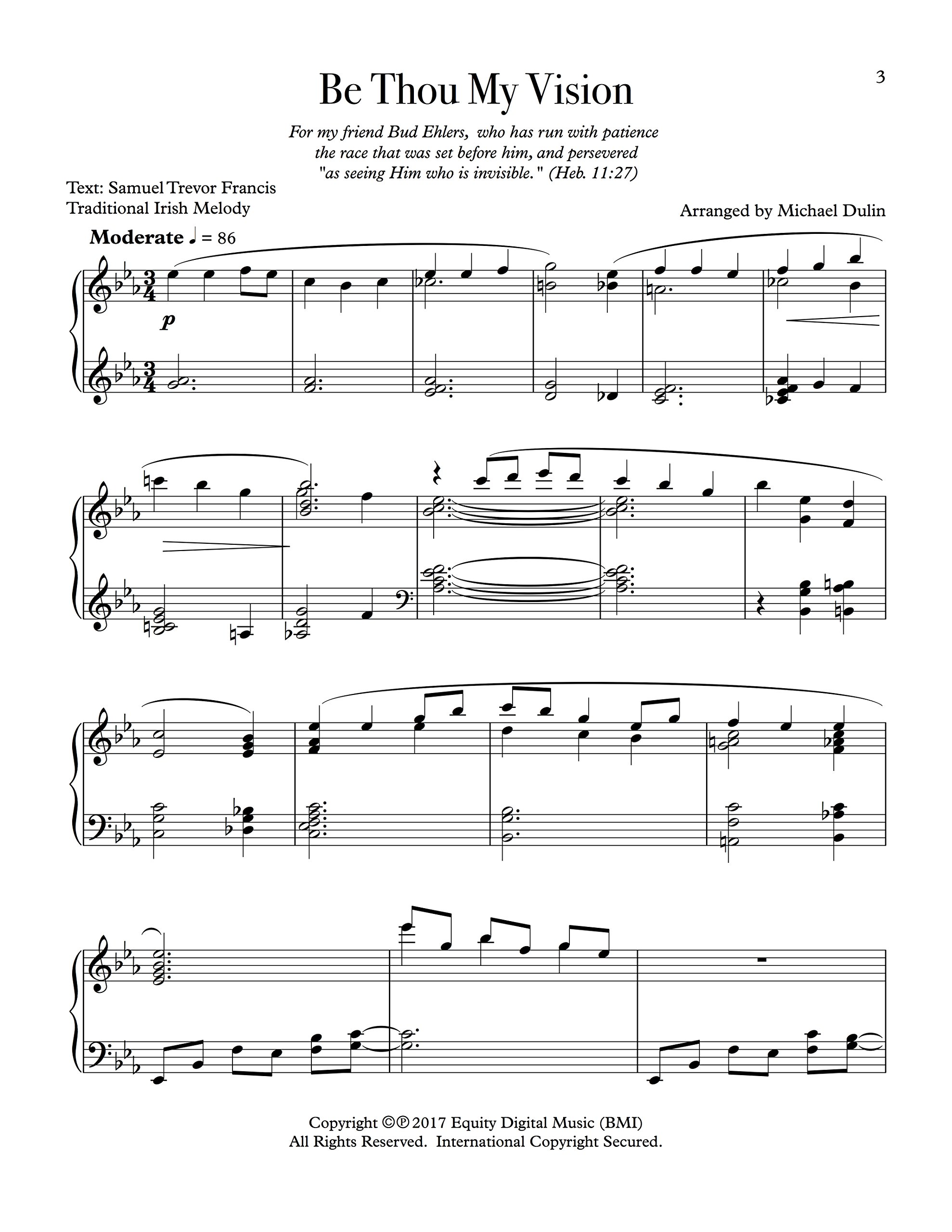 Beautiful Be Thou My Vision Hymn Settings For Solo Piano Play Piano Solo Sheet Music Book Long Performance Life Instruction Books & Media