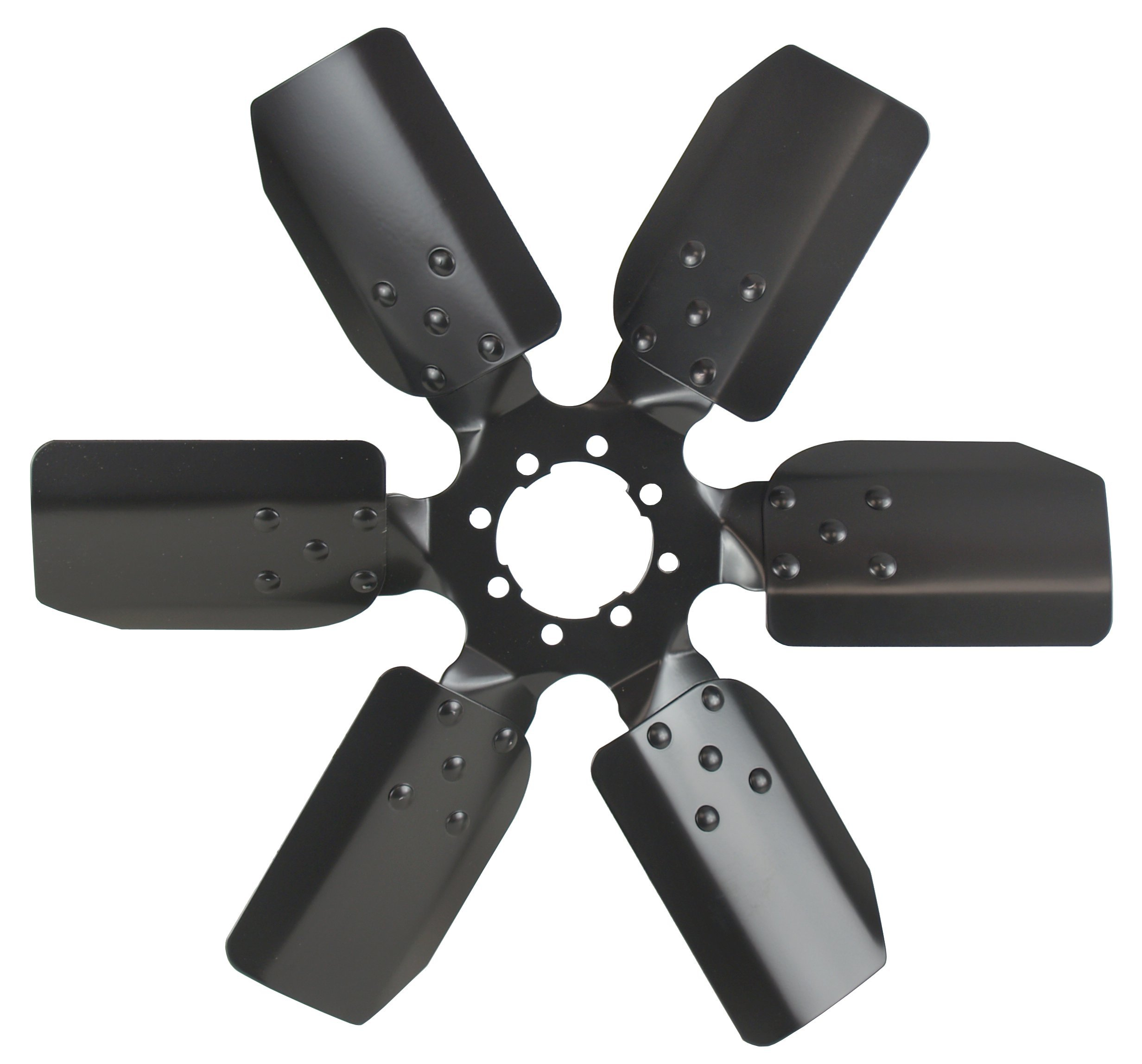Derale 17118 Heavy Duty Fan Blade Series 1000 18'' Steel Clutch Fan Standard Rotation