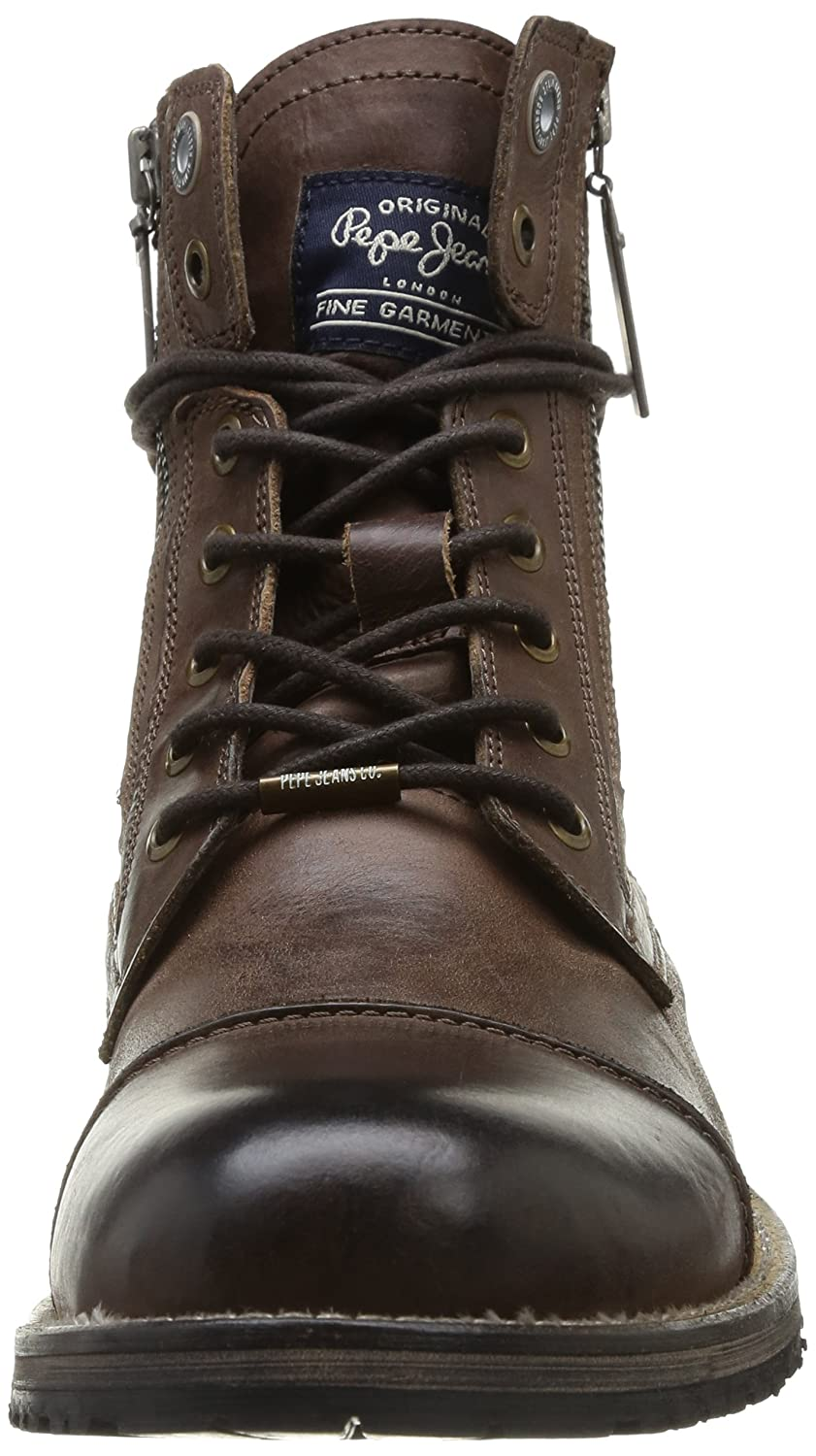 Mens Melting Flex Classic Boots, 878-Brown Pepe Jeans London