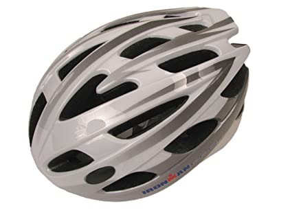 IronMan Pro - Casco para Bicicleta, Hombre, Charcoal/White: Amazon ...