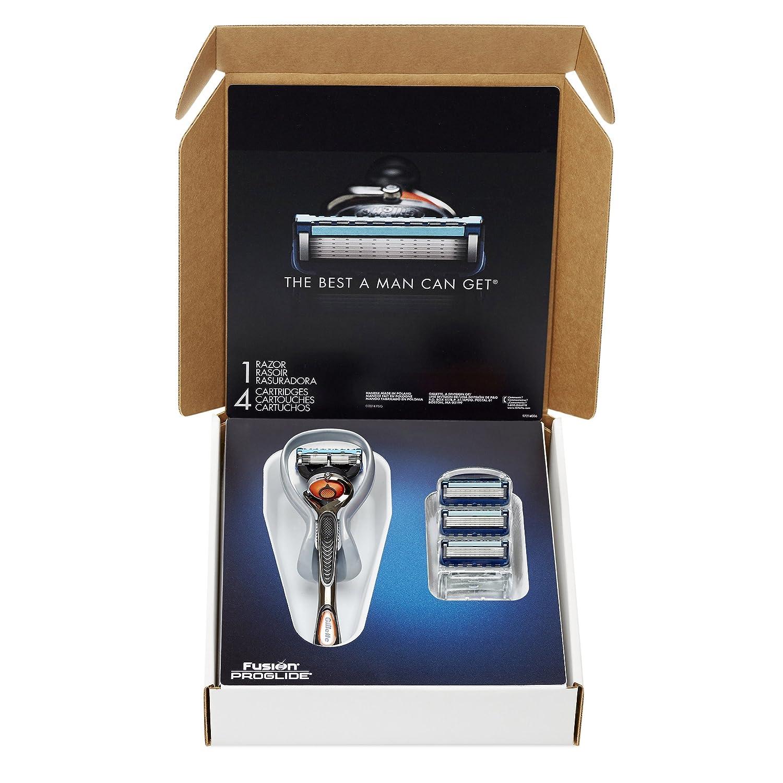 Gillette fusion proglide manual razor with flexball technology - Amazon Com Gillette Fusion Proglide Bundle With 4 Proglide Razor Blade Refills 1 Proglide Handle With Flexball Technology Beauty