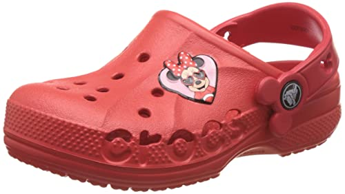 8a5bf82111c3 crocs Girl s Baya Minnie Flame Clogs and Mules  Buy Online at Low ...
